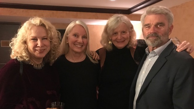 Kelly Cash, Leslie Hawke, Laurel Mayer, Sam Lawson