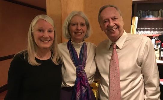 Leslie Hawke, Wendy Phillips, Geo McDonald